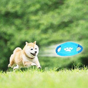 Hundespielzeug Set, ideal für kleine und mittelgroße Hunde, langlebig, sicher und Toxin-frei, Pet Kauen Seil Spielzeug, Hundeseil Spielzeug - Hundespielzeug (10 Artikel) - 9