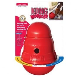 Kong 47522 Hundespielzeug Wobbler, befüllbar mit Snacks - 1