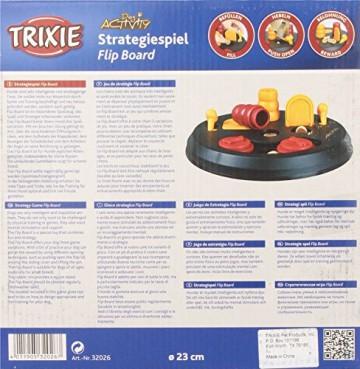 Trixie 32026 Dog Activity Flip Board Strategiespiel, für Hunde, 23 cm - 7